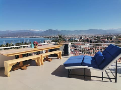 Babylon Townhouse, 5* - the best view in Fethiye.
