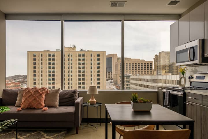 Modern 1BR Apt in Downtown