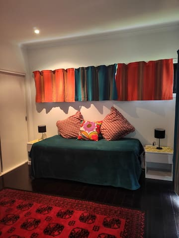 Third Bedroom has a sealy posturepedic trundle bed that converts into a King size bed