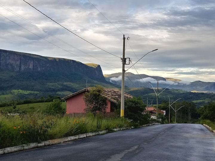 Vista espetacular da Serra da Canastra