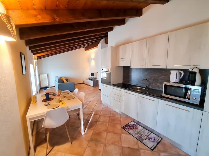 New lovely apartment in Polpenazze del Garda