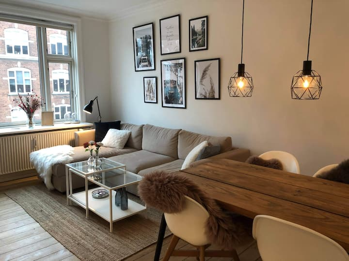 Smuk lejlighed på Frederiksberg