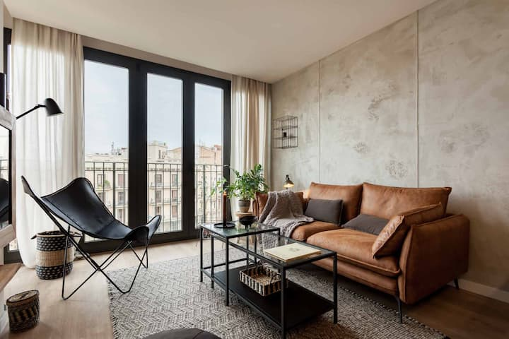 Modern two bedroom apartment in Sagrada Familia