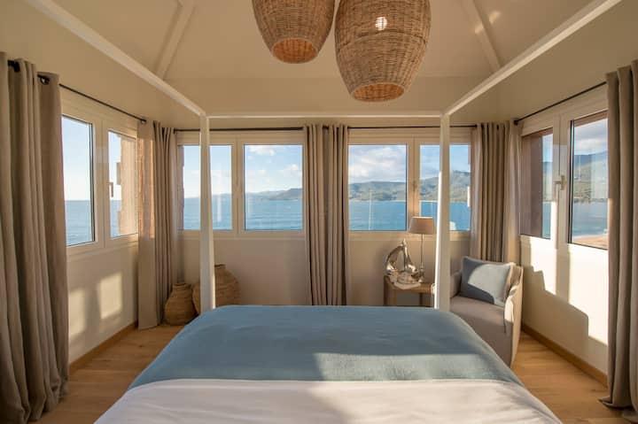Suite 5 dans Château Rouher / Vue mer accès plage