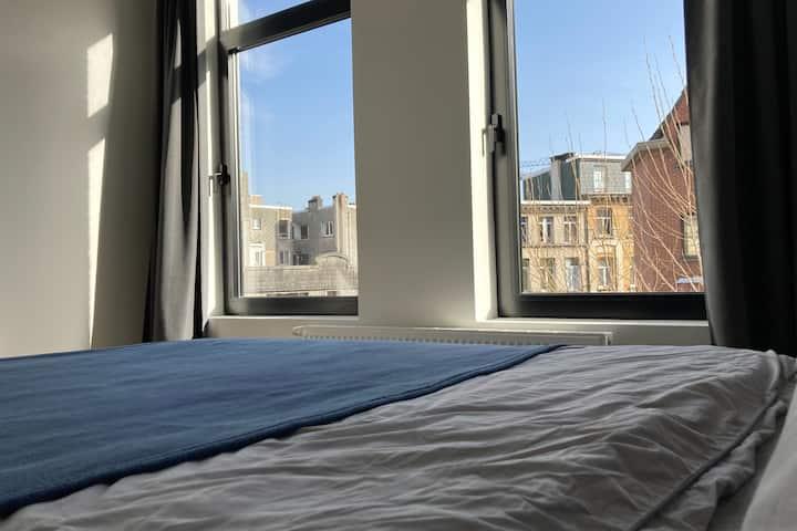 Trendy appartement hartje Antwerpen Zuid