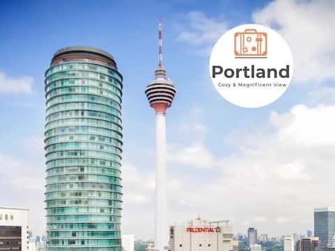 Luxury & Premium Home (KL Tower View) @Portland