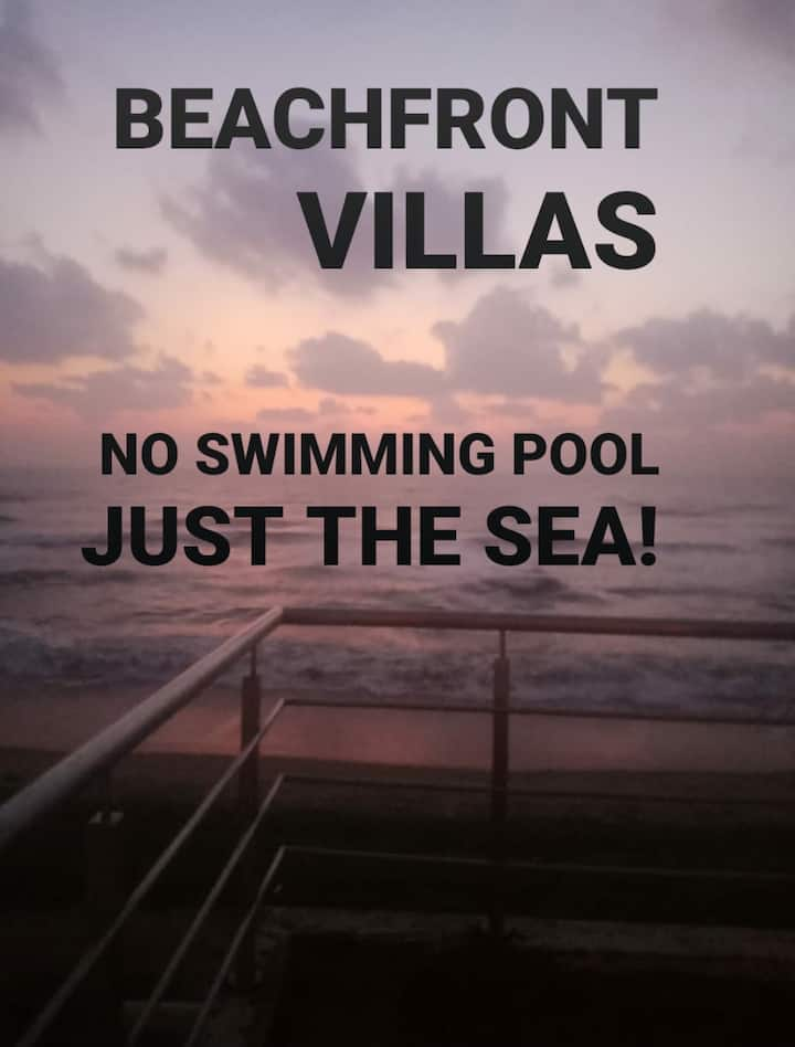 Aum Sea Breeze: AC 2 BHK Beachfront Villa