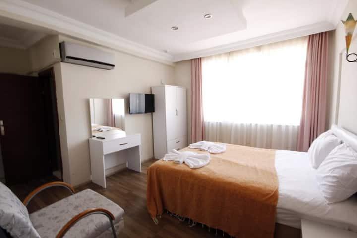DOUBLE ROOM/Antalya center, Beach 3min./LIFE301