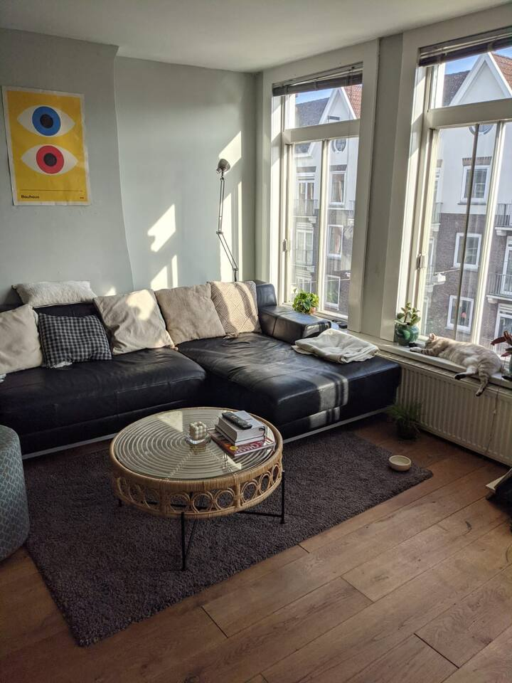 Appartment w/ sunny balcony Amsterdam-West/Centrum