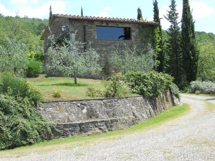 Old barn in the heart of Chianti