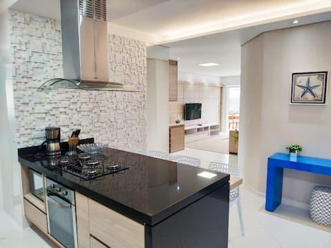 새 아파트, 스위트 3개, 해변에서 가깝습니다. 모드8 리비에라