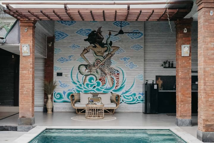 2 Bedrooms villa located in the heart of Canggu