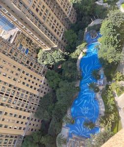 小区有配备游泳池,还是全夏天都开放的