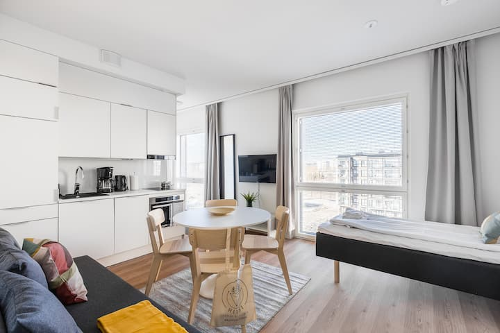 Business One Bedroom Apartment, Balcony & Parking