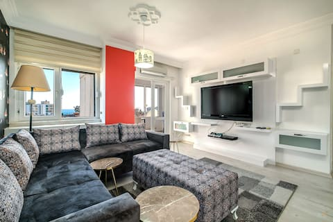 Orange Homes Antalya Lara Beauty Room 1 +1 (海景)