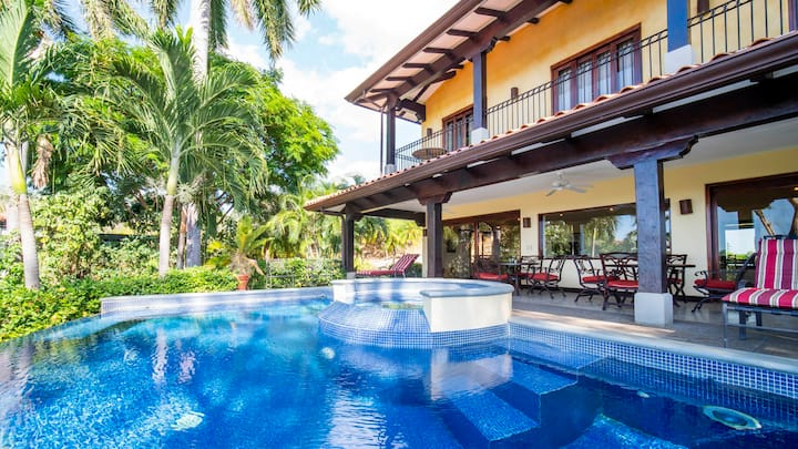 Ocean View Villa in Reserva Conchal private pool