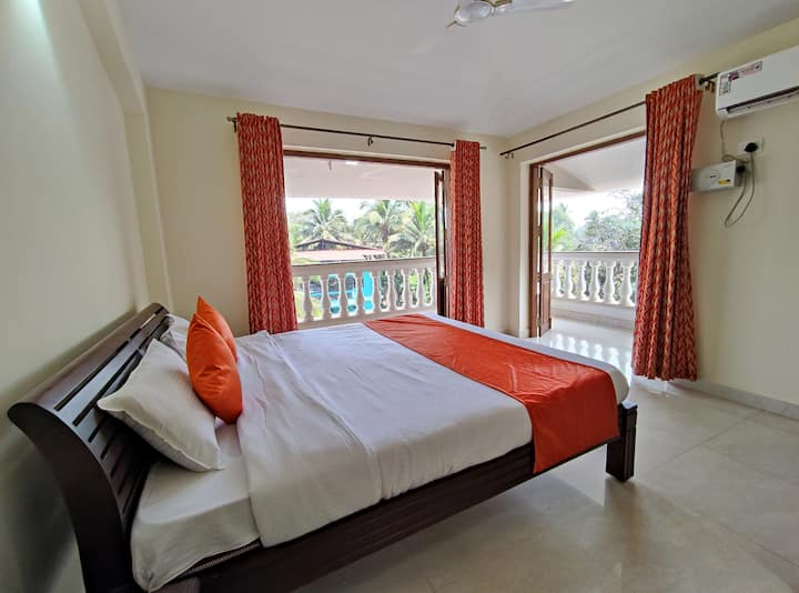 2 BHK Apartment with kitchen in Goa