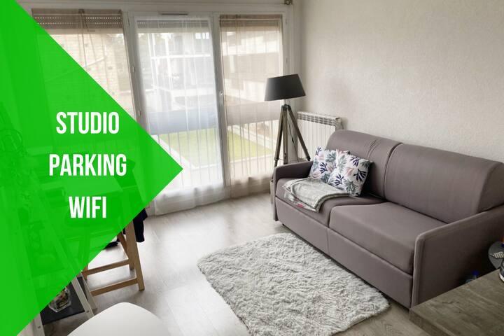⭐️ Studio ⭐️ Confort ⭐️ Cosy ⭐️ Wifi ⭐️ Parking