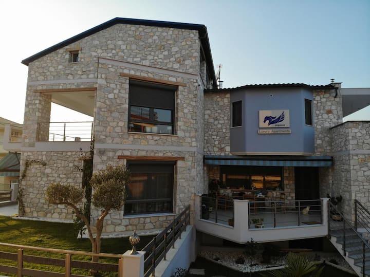 Pegasus 2 sea view, luxury apartements Nea Vrasna