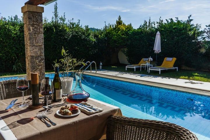 Junior Suite with Private Pool | Restia Suites