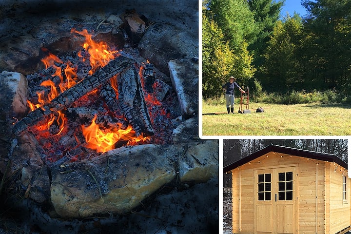 Camping Groups! Wilderness Tenting Firepit Cabin