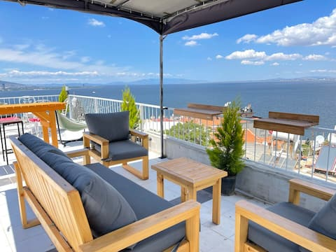 The Ultimate Seaview House with Private Terrace