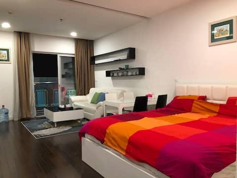 Studio on 24th floor, unlimited view, Hanoi centre
