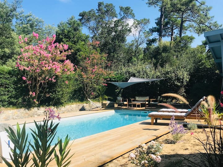 Magnifique villa avec piscine proche plage