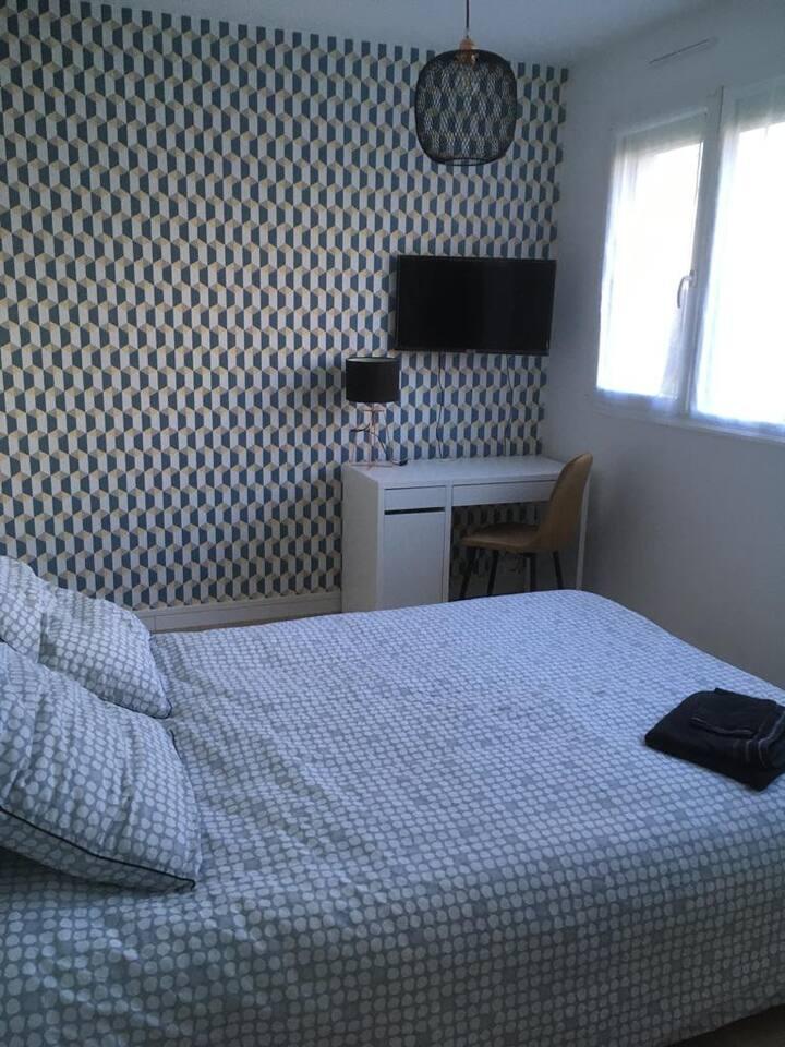 Belle chambre dans appartement rénové
