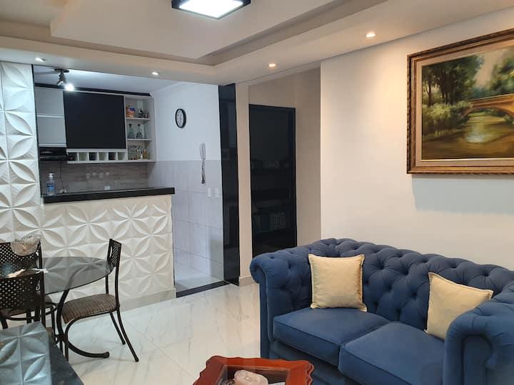 Apartamento inteiro com área privativa