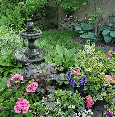 Suíte Privada Pleasantdale e Jardim Adorável