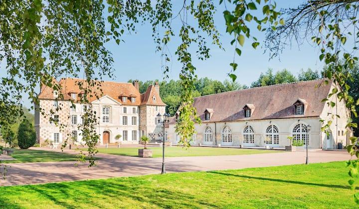 Chambre de Mathilde au Château d'Hermival