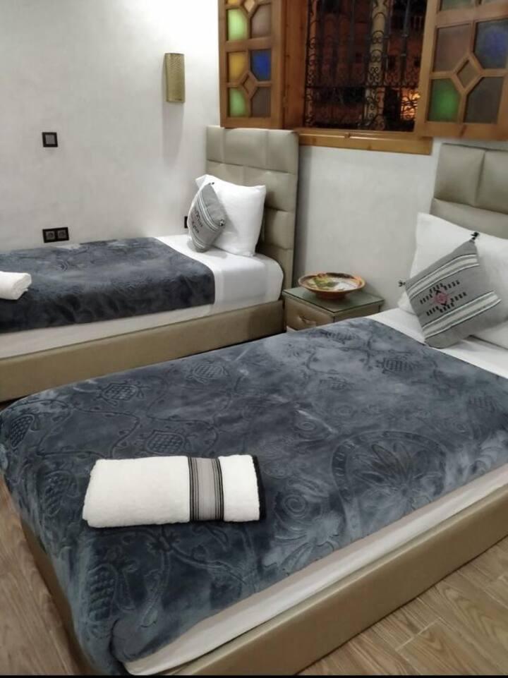Chambre privée dans les Oudayas avec terrasse 3