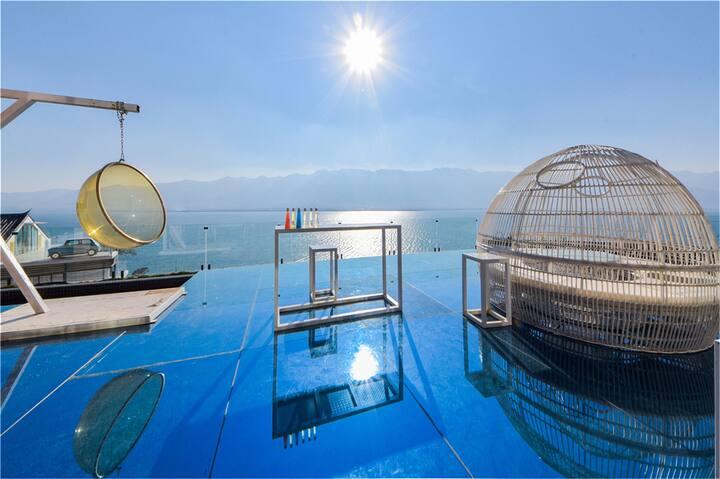 海景露台星空双床房·半山海景·俯瞰苍山洱海·天空之镜·泳池·免费接送站