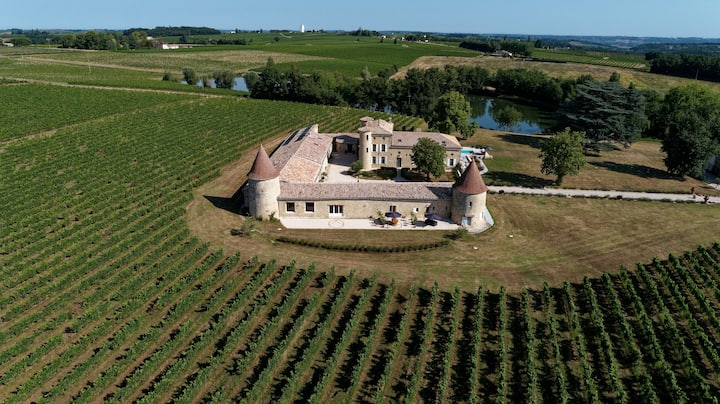 Reconnect with nature at Château de Vigouroux