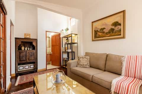 Apartamento pitoresco e privado no subúrbio histórico