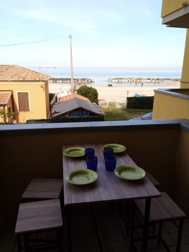 Apartment on the beach