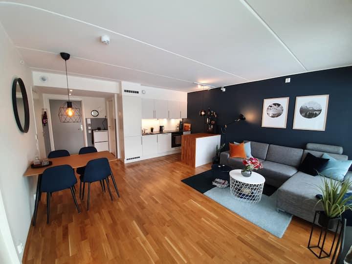 Ny og moderne leilighet