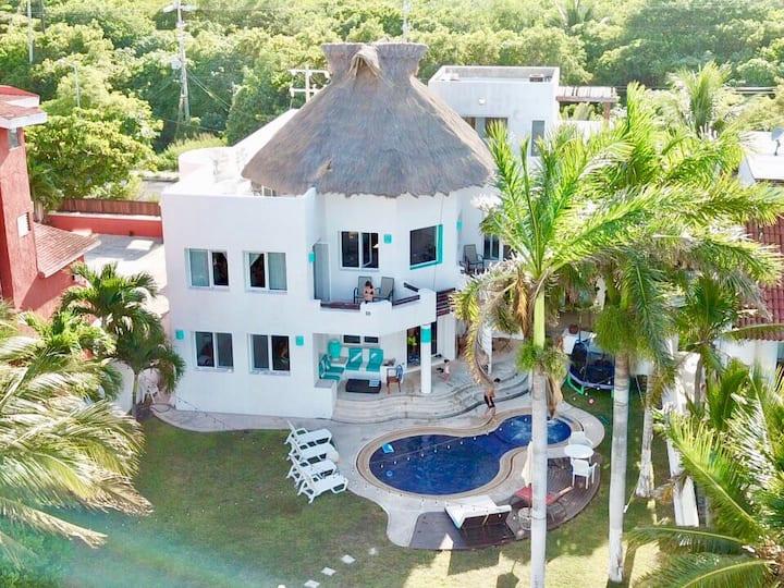 ¡¡Casa del Mar!! playa y alberca privada en Cancún