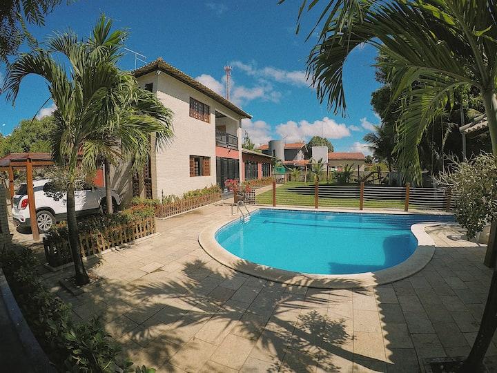 Casa em Serrambi 2 pavimentos e 4 suítes