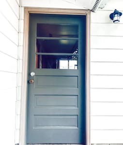 Easy access through side garage door into home with no obstacles.