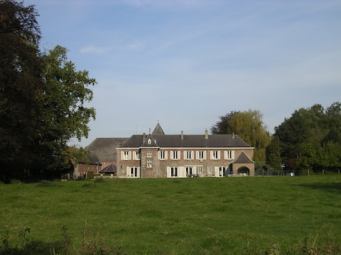 Castle farm in the countryside