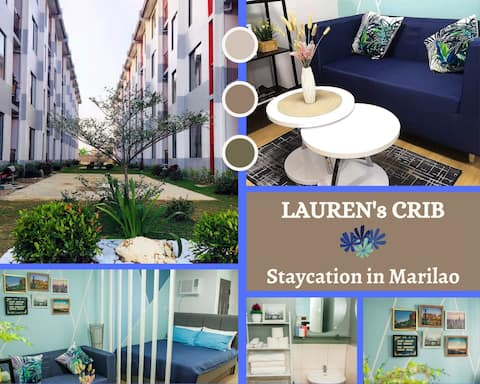 Hotel Vibe Staycation at Lauren's Crib in Marilao