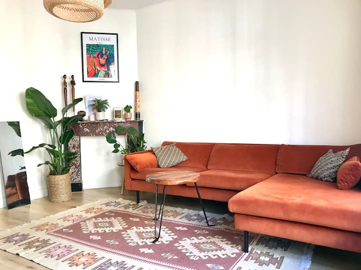 Bohemian apartment in the heart of the Jordaan