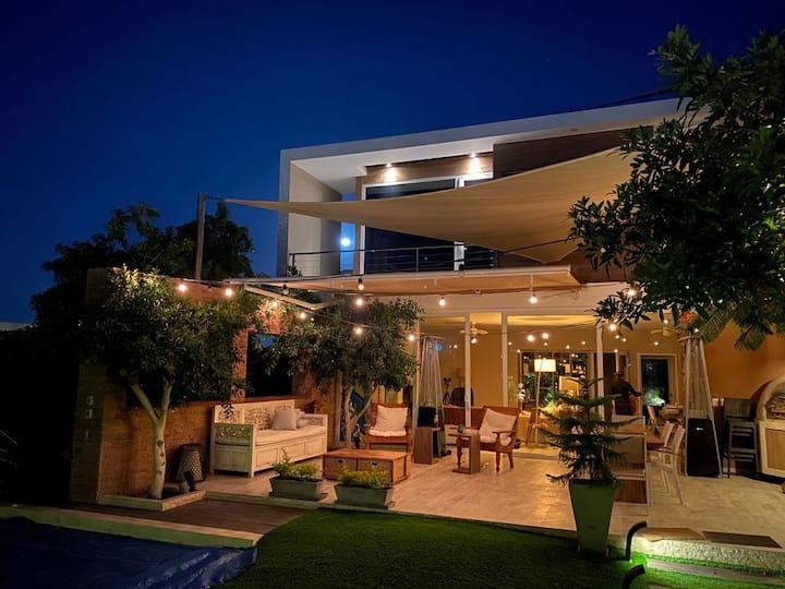 Casa de Playa con piscina Viento Sur - Paracas