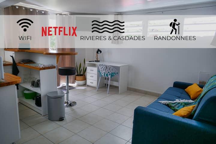 Studio proche Soufrière
