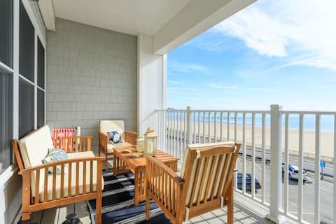 דירה 2BR עם חניה על החוף