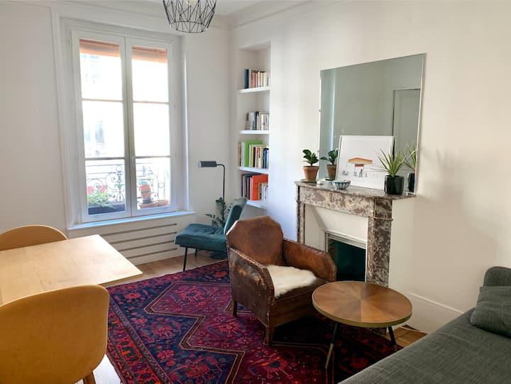 Charmant appartement à deux pas de Montmartre
