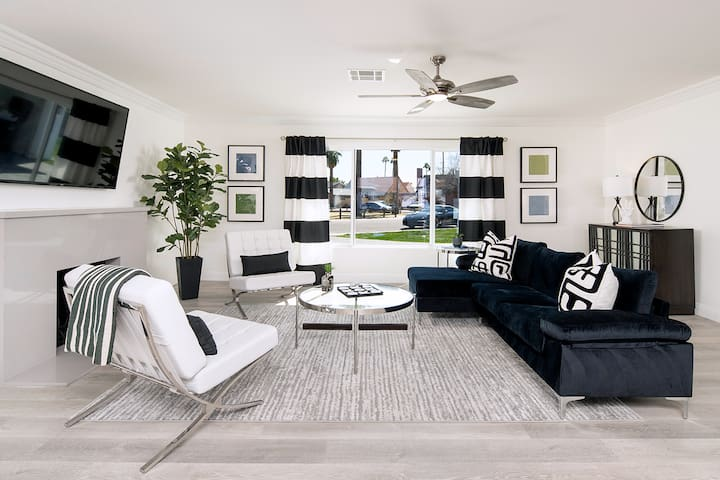 The living room was designed for your comfort!
