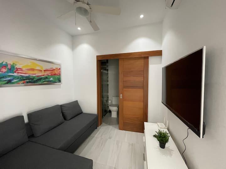 Moderno Apartamento estudio en Piantini